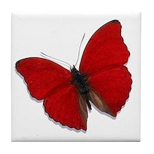 Red Glider Tile Coaster