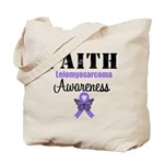 Faith Leiomyosarcoma Tote Bag