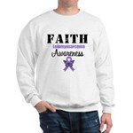 Faith Leiomyosarcoma Sweatshirt