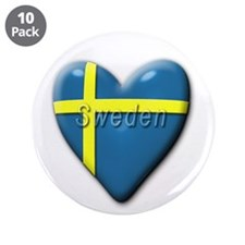 "Swedish 3.5"" Button (10 pack)"