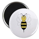 "Smiling Bumble Bee 2.25"" Magnet (10 pack)"