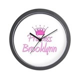Princess Brooklynn Wall Clock