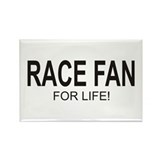 Race Fan For Life Rectangle Magnet (100 pack)