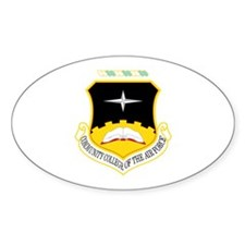 Community College Oval Decal