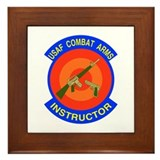 Arms Instructor Framed Tile