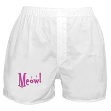 Meow With Attitude: Boxer Shorts