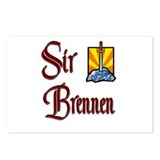 Sir Brennen Postcards (Package of 8)