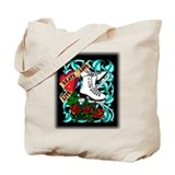 Tattoo Skater Tote Bag