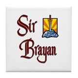 Sir Brayan Tile Coaster
