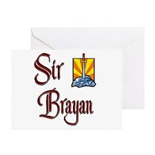 Sir Brayan Greeting Cards (Pk of 10)