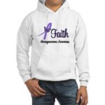 Faith Leiomyosarcoma Hooded Sweatshirt