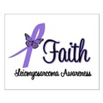 Faith Leiomyosarcoma Small Poster