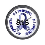ALS Awareness Wall Clock