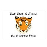 Gluten Free Tiger Postcards (Package of 8)