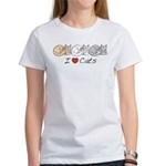 I Heart Cats Women's T-Shirt