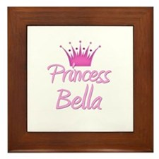 Princess Bella Framed Tile