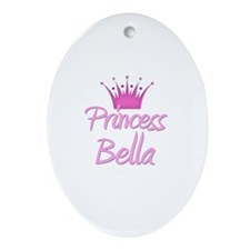 Princess Bella Oval Ornament