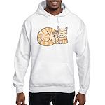 OrangeTabby ASL Kitty Hooded Sweatshirt