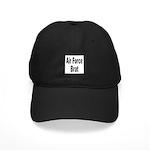 Air Force Brat Black Cap