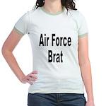 Air Force Brat (Front) Jr. Ringer T-Shirt