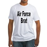 Air Force Brat (Front) Fitted T-Shirt