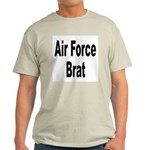 Air Force Brat (Front) Ash Grey T-Shirt