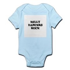 BELLY DANCERS  ROCK Infant Creeper