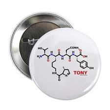 "Tony name molecule 2.25"" Button"