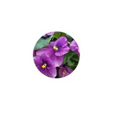 Beautiful Purple AV Field Mini Button (10 pack)