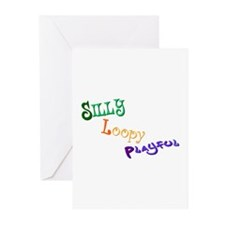 Silly Loopy Play. Greeting Cards (Pk of 10)