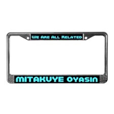 All My Relations License Plate Frame