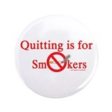 "Quit Smoking 3.5"" Button (100 pack)"