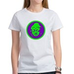 Green & Purple Buddah Women's T-Shirt