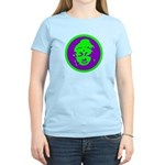 Green & Purple Buddah Women's Light T-Shirt