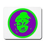 Green & Purple Buddah Mousepad
