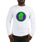 Green & Purple Buddah Long Sleeve T-Shirt