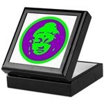Green & Purple Buddah Keepsake Box