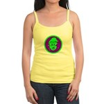 Green & Purple Buddah Jr. Spaghetti Tank