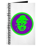 Green & Purple Buddah Journal