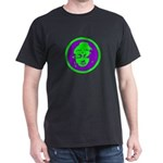 Green & Purple Buddah Dark T-Shirt