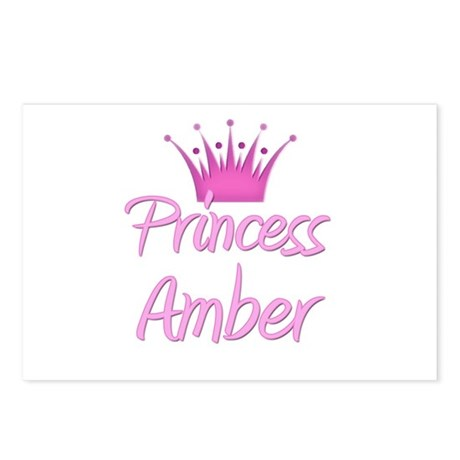 Princess Amber Postcards (Package of 8)