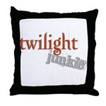 Twilight Junkie Throw Pillow