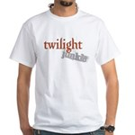 Twilight Junkie White T-Shirt