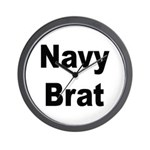 Navy Brat Wall Clock