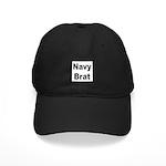 Navy Brat Black Cap