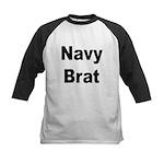 Navy Brat Kids Baseball Jersey