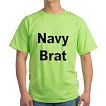 Navy Brat Green T-Shirt