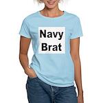 Navy Brat Women's Pink T-Shirt