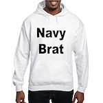 Navy Brat (Front) Hooded Sweatshirt