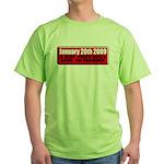 Inauguration 2009 Green T-Shirt